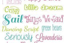 Fonts & Lettering / by Veronica Croskrey