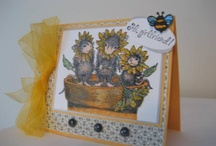 Cards( House mouse, Happy hoppers& Gruffies) / Us stampers know of these adorable critters named.... Housemouse, happy hoppers and gruffies!! Here is a board dedicated to these sweet critters! Happy stampin' my fellow stampers!!!! / by Helen Senesac