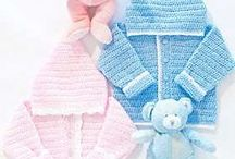 Baby: unisex clothes, its a boy!, mittens, some of the hats / clothes, but not blankets or cocoons, not booties or socks / by Crocheting Lawyer