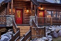 Log cabin longings! / by Helen Senesac