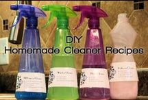 Cleaning - Cleaner recipes / by Veronica Croskrey