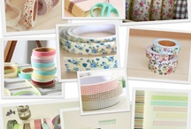 Fabric Tape Ideas / by ThePlaidBarn