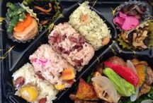 Obento / お弁当 / Boxed-lunch / by Junco Wisteria
