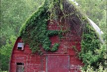Abandoned Places,  Homes and Barns / by A Maine Girl At Heart...
