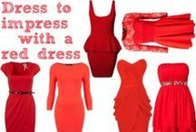 LRD = Little Red Dress / by Stephanie Schmidt