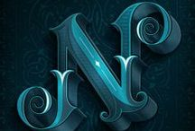type :: characters / typography : letters : numerals : special : letterforms : type : font / by sun yun
