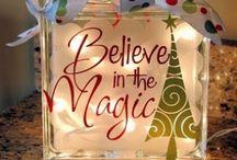 Christmas / My favorite holiday. Lots of ideas / by Lori Boshaw