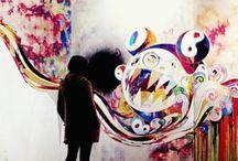Art - Murakami Takashi (Takashi Murakami) / by Jan Hiura