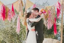 Wedding color: Pink and Orange / by Lizzy A.
