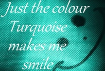 Color Crush - Turquoise Aqua / I want to bathe in this color.... / by Kristin McGee