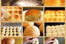 Breads & rolls / by Carolyn Finck