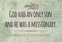 | missions. | / by Sarah Minerella