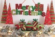 Christmas Decor / by Jen *Craft-O-Maniac