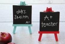 Teacher Appreciation Gift Ideas / by Jen *Craft-O-Maniac