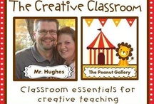 The Creative Classroom / Here you will find both original and found ideas from a teacher on the West Coast and one on the East Coast that will not only increase the creativity in your classroom but also inspire you to share it with others.  / by Created by MrHughes