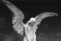 ☫ Angelic ☫ / ☫ comforting winged cemetery angels and beautiful zen statuary ☫ / by Kandice Dickinson