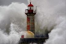 LIGHTHOUSES AND TOWERS / by Susan Harris