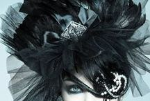 HATS,GLOVES,HAT BOXES,HEADDRESSES / by Susan Harris