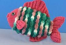 Crochet Beach, Shells, Fish, Nautical / by Kay Davenport Barr