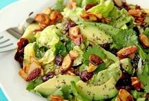 yummy.salads. / by Ashleigh Irwin