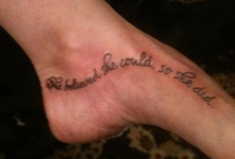 Tattoos / by Tauna Gravel Calise