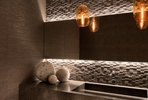 Bathroom & lighting / by Debbie @ Lichtinspiratie