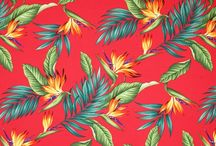 ***Hawaiian Material, Quilts and Potholders*** / I found a great site for material for sewing sundresses, pillows, etc...   www.BarkclothHawaii.com / by Karol Tidwell/Holloway