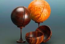 Woodturning / Items turned by a lathe that aren't bowls. / by Cory Hemminger
