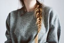 [Braids and Other Hair Personalities] / by Sasha
