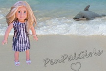 Dive into Australia / Discover the beautiful beaches of #Australia with our #dolls of the world / by PenPalGirls
