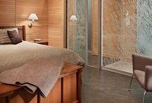 Bedroom Floors / Stained Concrete on Bedroom Floors / by Kelly Bhatt