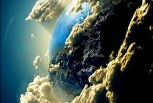 EARTH - ABOVE & BELOW / God's universe above and below us. / by Pam Stovall