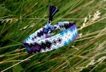 Knots & Patterns / Macrame, Friendship Bracelets, Patterns, etc friendship-bracelets.net braceletbook.com / by Justine McConnell