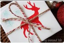 Holiday Neighbor Gift Ideas / Move beyond the typical plate of cookies with these Holiday Neighbor Gift Ideas!   / by Angel ~ Fleece Fun