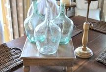 HOME DECOR I LOVE / THINGS I LOVE & WOULD LIKE TO WEAVE INTO MY DESIGN STYLE...... / by Sylvia Summers