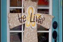 EASTER DECOR & IDEAS / EASTER  / by Sylvia Summers