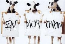 Eat Mor Chikin! / by Andrea Nicole