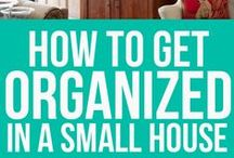 ORGANIZING / by Sylvia Summers
