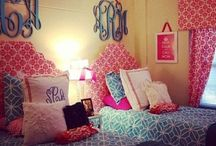 Decorate a Dorm Room! / Must haves and I wannas for freshman girl's room / by Martheil Mauthe-Clanton