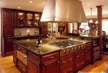 For the Home--Cuisine Central / Heart of the Home--the Kitchen! / by Martheil Mauthe-Clanton