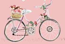 pink and orange inspiration / by Tiffany Johnson