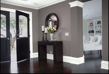 PAINT COLOR IDEAS / Ideas for interior and exterior paint color & good combinations. / by Julie H.