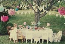 Beautiful Tea Party Ideas / by Angie @Echoes of Laughter