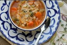 Yummy Soups & Chilis / by Angie @Echoes of Laughter