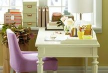 Organized Desks & Offices / by Angie @Echoes of Laughter
