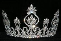 Tiaras for Weddings-Prom-Pageant / Tiaras for weddings, prom, pageants in various styles and sizes to add a touch of elegance and dazzle to your wedding or special occasion. / by Wedding Bedazzle