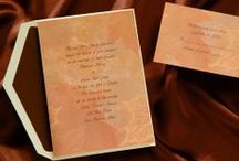 Autumn Weddings Invitations- Wedding Accessories / Autumn weddings ideas for fall wedding invitations, ceremony and reception accessories, party favors and wedding decorations. / by Wedding Bedazzle