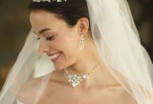 Bridal Jewelry | Wedding Necklace Sets | Wedding Jewelry / Wedding necklace sets for the bride, bridesmaids, mother's of the bride and wedding guests. Bridal jewelry collection of elegant cubic zirconia, shimmering pearls and dazzling rhinestone  necklace and earrings sets. / by Wedding Bedazzle