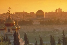 Jerusalem City of Gold / The Holy City in the Holy Land / by Israel