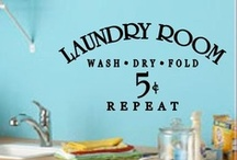 laundry room vinyl / by Expressions Vinyl